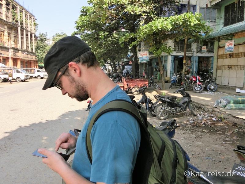 Navigation in Mandalay