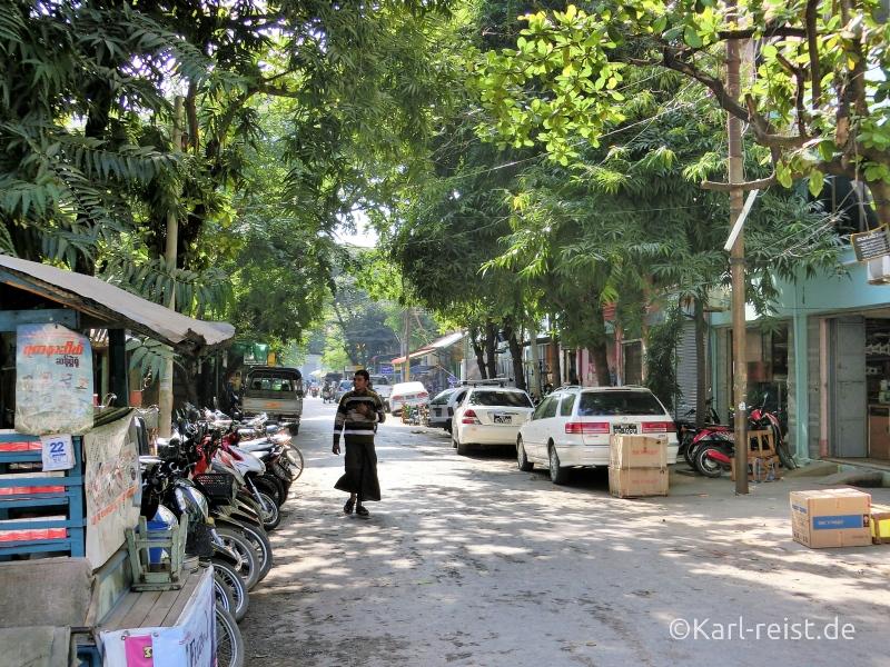 Straßenszene Mandalay