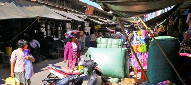 Unterwegs in den Straßen von Mandalay