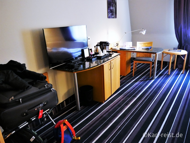 Businesszimmer Ausstattung im Radisson Blu Bremen