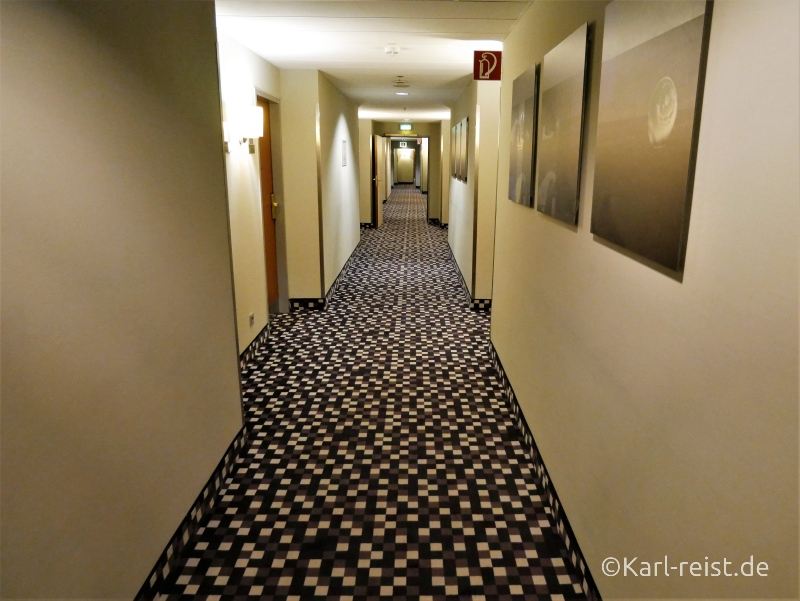 Flur im Radisson Blu Bremen Hotel