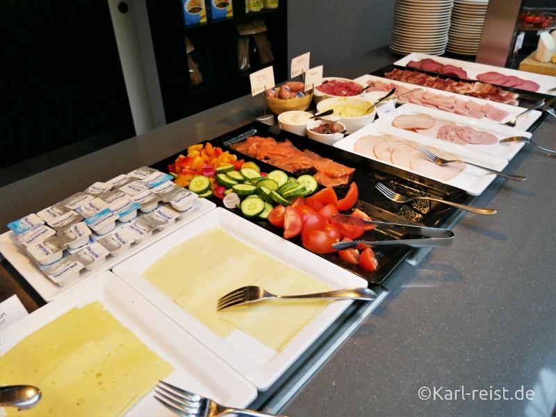 Frühstück im Radisson Blu Bremen Hotel