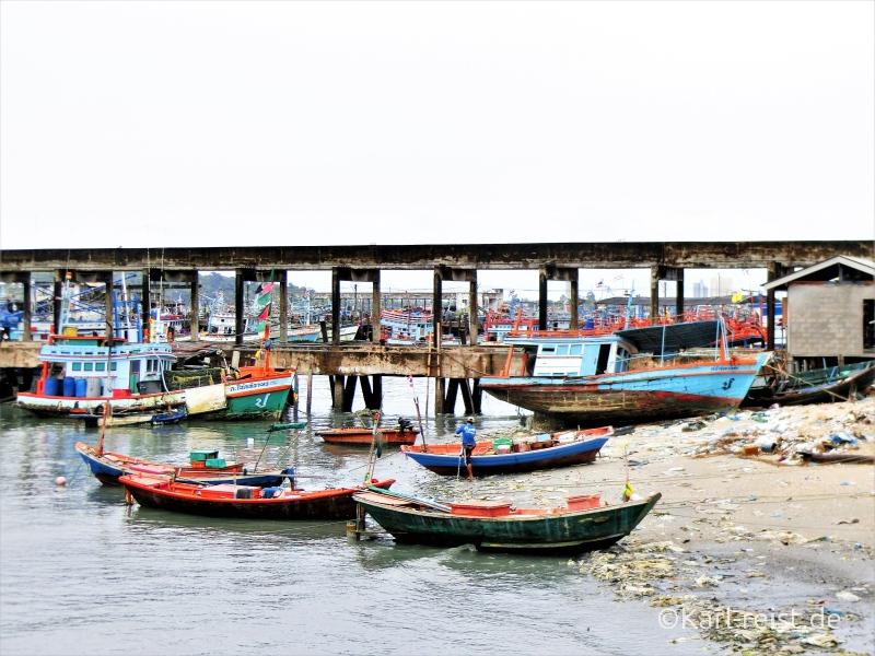 Hafen in Ban Phe Rayong