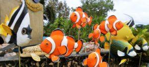 Rayong Aquarium Eingangsbereich in Ban Phe Thailand