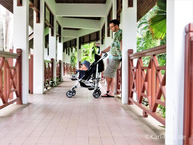Garten im Novotel Rim Pae Rayong Hotel Resort Klaeng Ban Phe