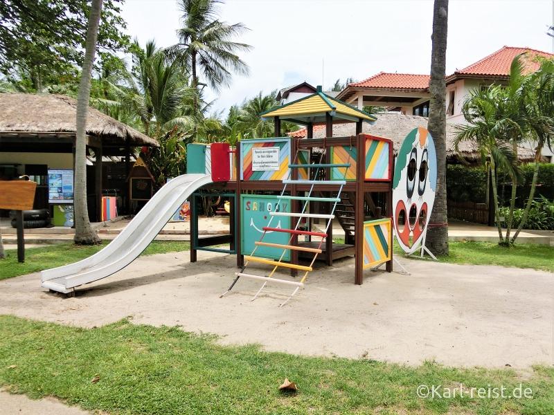 Spielplatz im Novotel Rim Pae Rayong Hotel Resort Klaeng Ban Phe