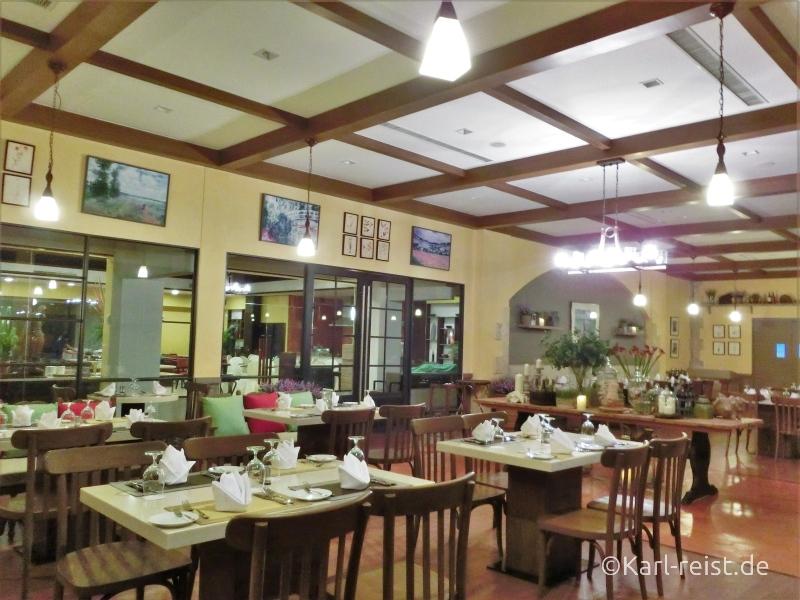 Restaurant im Novotel Rim Pae Rayong Hotel Resort Klaeng Ban Phe