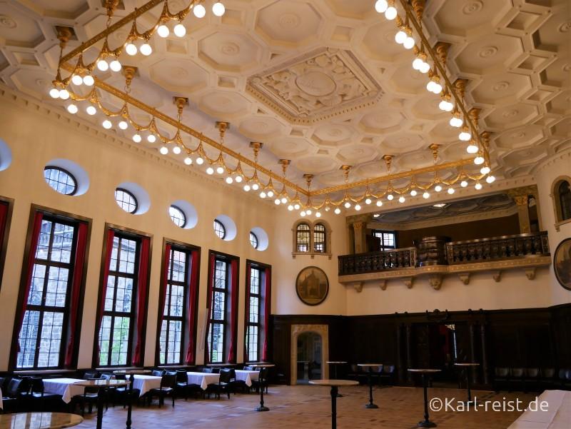 Festsaal im Bremer Rathaus