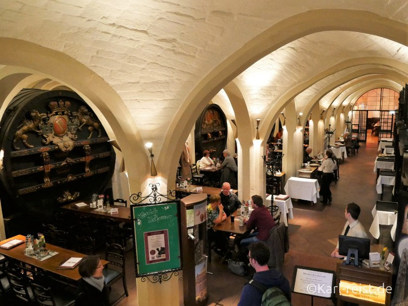 Restaurant im Bremer Ratskeller
