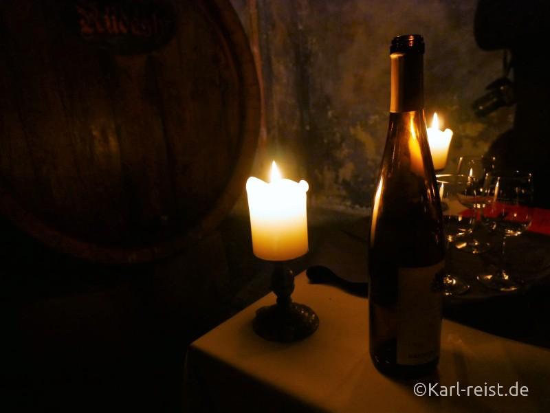 Weinverkostung im Rosekeller Bremer Ratskeller