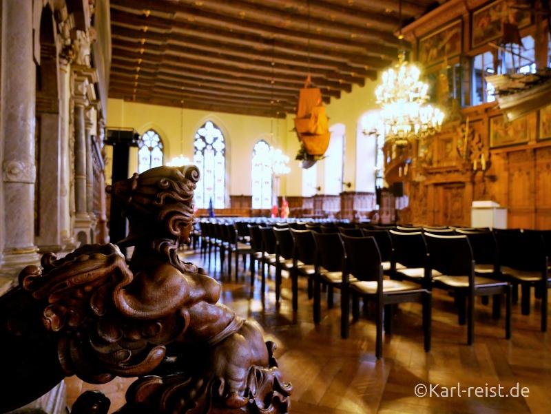 Obere Rathaushalle im Bremer Rathaus