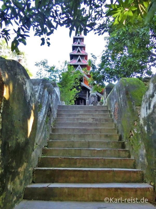 Bagaya Kloster auf Insel Inwa