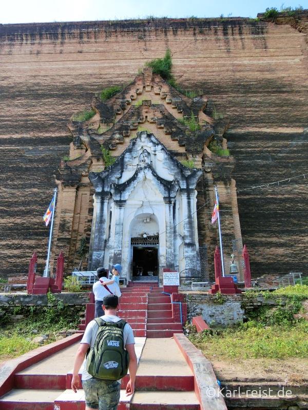 Eingang Mingun Pagode