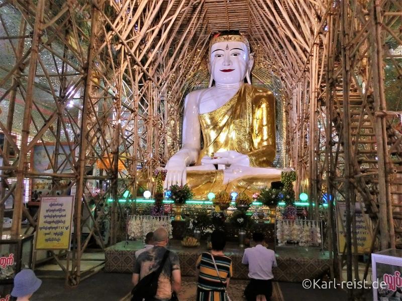 Buddha Statue in in Soon U Ponnayashin Pagode