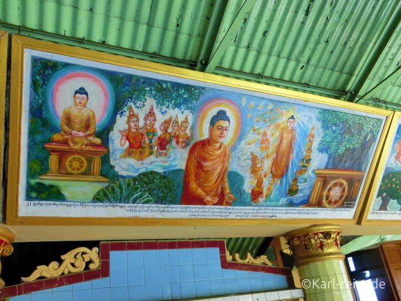 Buddha Bild in Soon U Ponnayashin Pagode