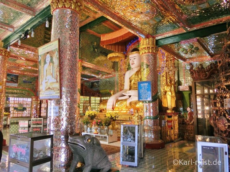 Buddha Statue in Soon U Ponnayashin Pagode