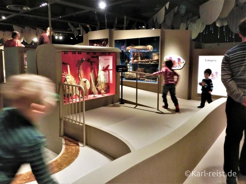 Bewegungsplatz der Welt im Museum of World Culture Museum der Kulturen der Welt Göteborg Sehenswürdigkeit