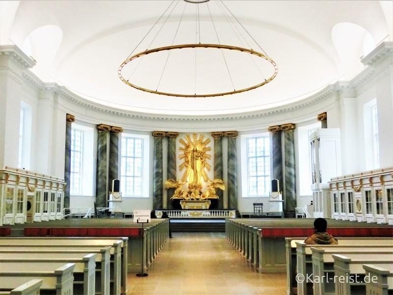 Innenansicht Domkyrkan Göteborg Dom