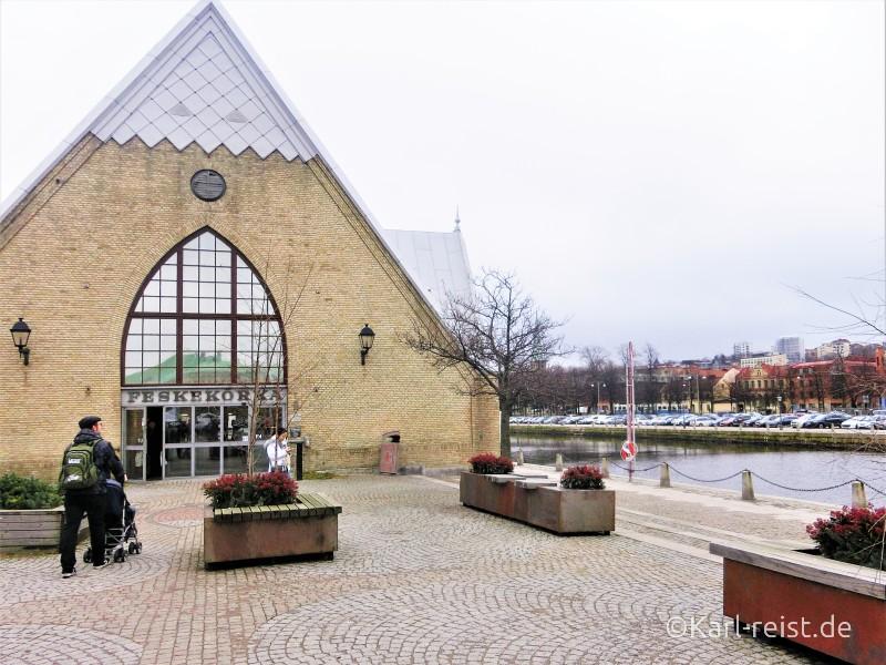 Feskekorka Fischhalle Fischmarkt Göteborg