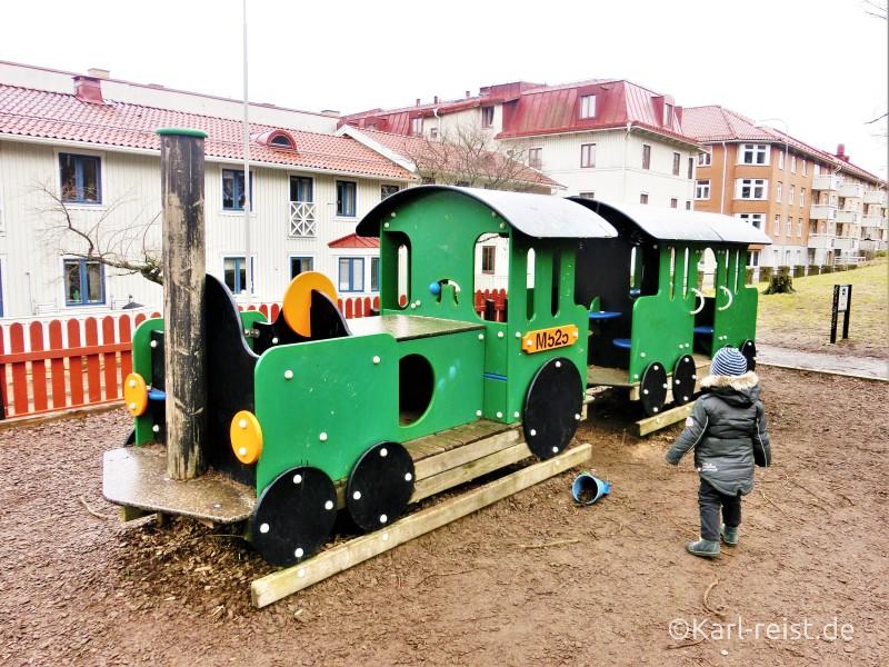Spielplatz am Skansan Kronan
