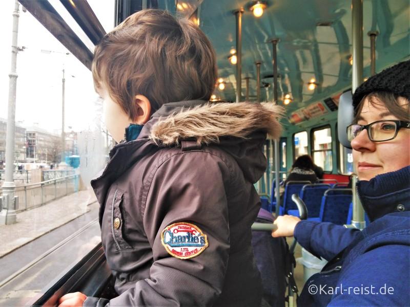 Straßenbahn fahren in Göteborg