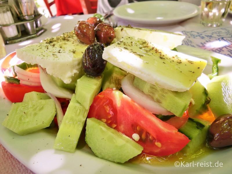Peloponnes Finikounda Taverne To Steki Salat