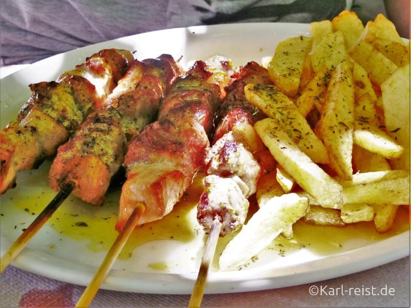 Peloponnes Finikounda Taverne To Steki Souvlaki