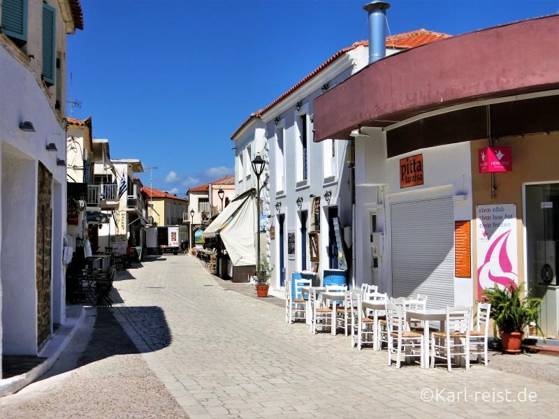 Peloponnes Finikounda Innenstadt