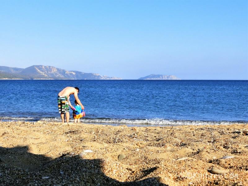 Peloponnes Finikounda Strand Montenegro