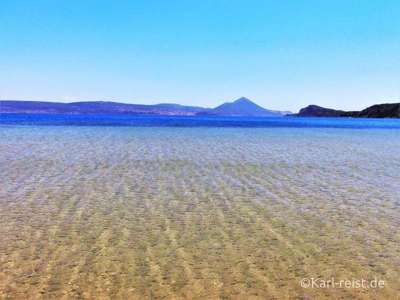 Golden Sand Pylos Ntivari Beach Strand