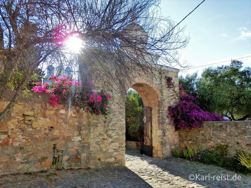 Eingang Kloster Koroni
