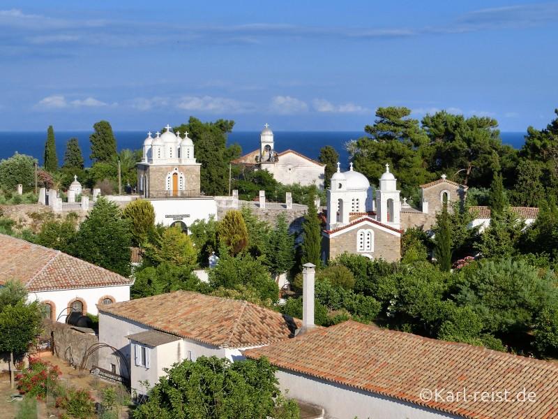 Blick auf Klosteranlage