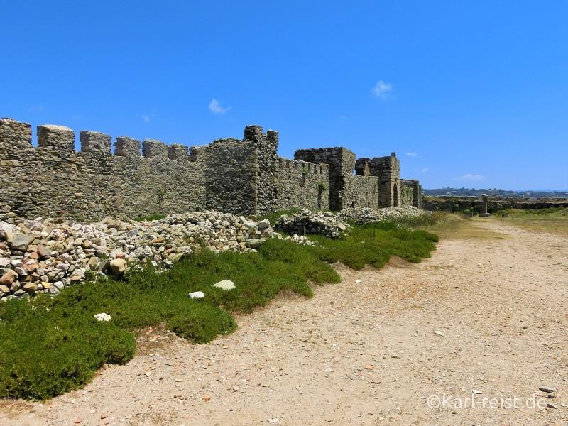 Peloponnes Methoni Burg Festung
