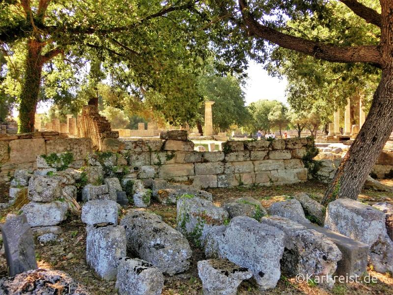 Peloponnes antikes Olympia