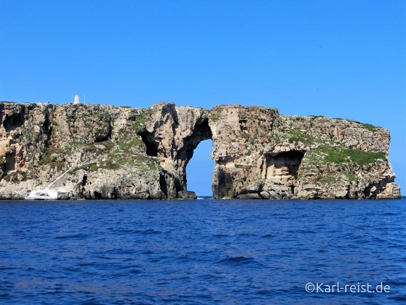 Peloponnes Pylos Bucht von Navarino