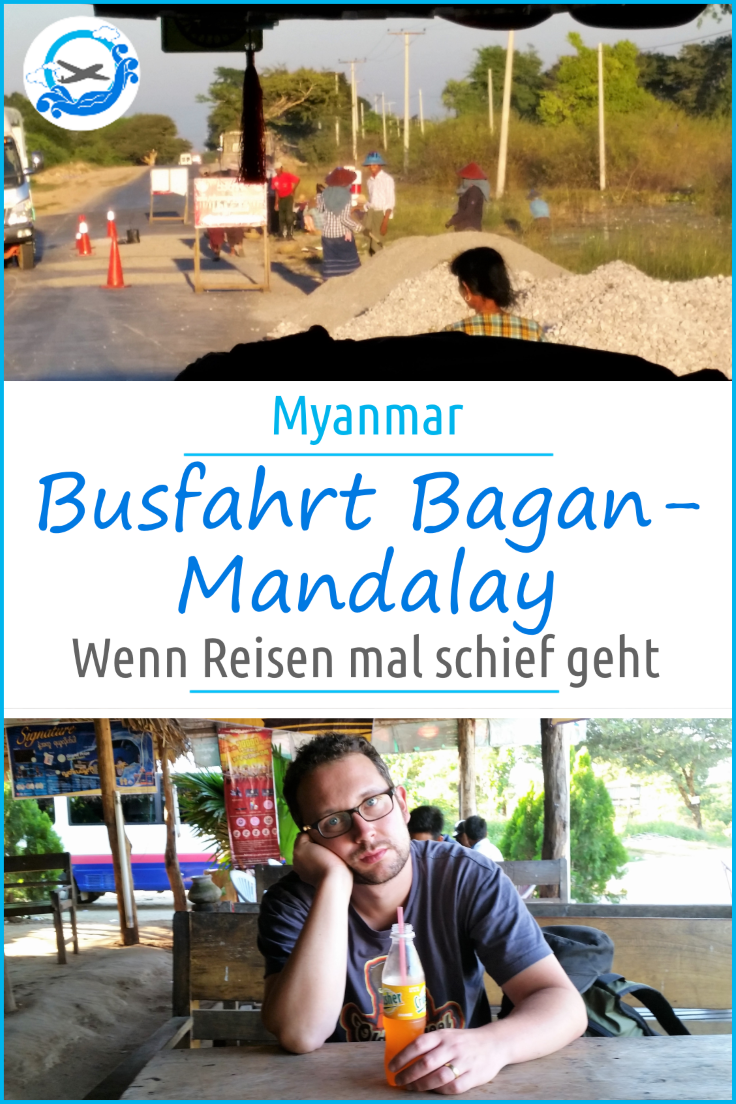 Pinterest Busfahrt Bagan Mandalay