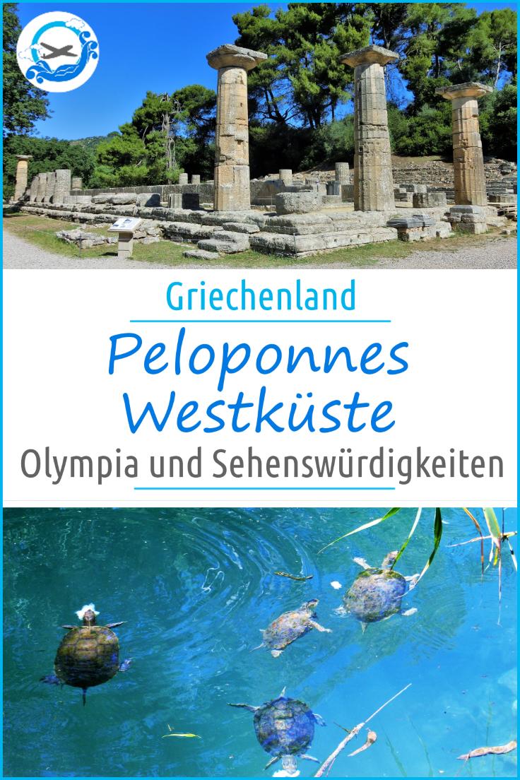 Pinterest Peloponnes Olympia