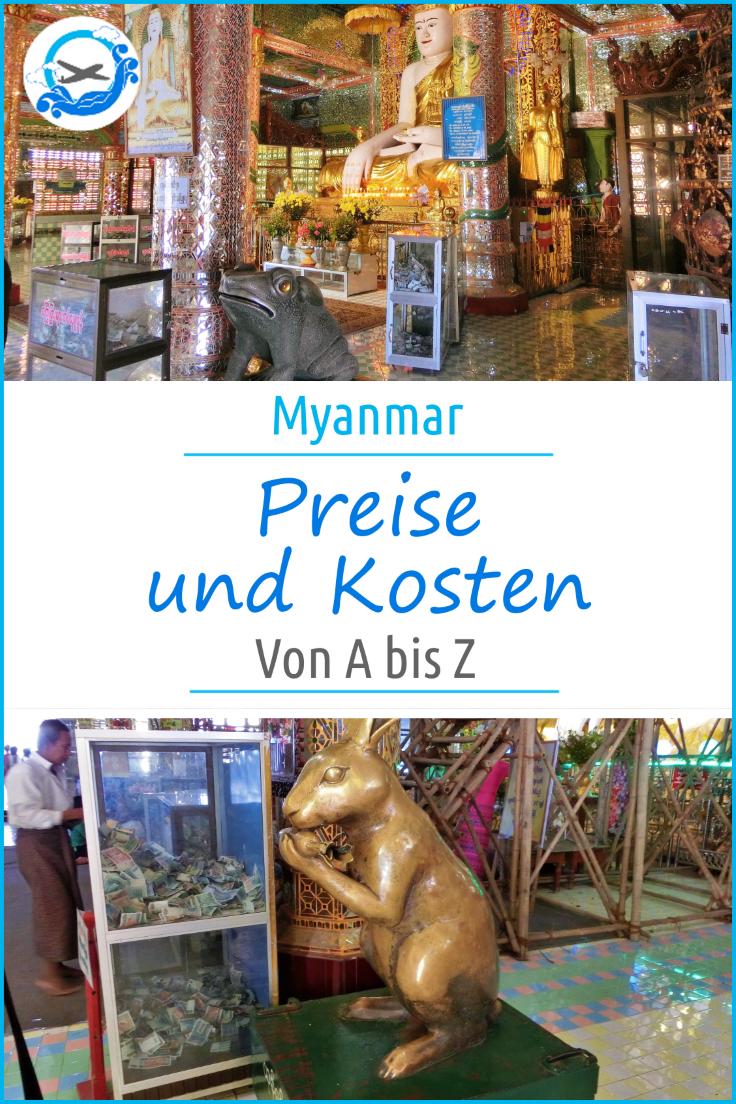 Pinterest Myanmar Kosten