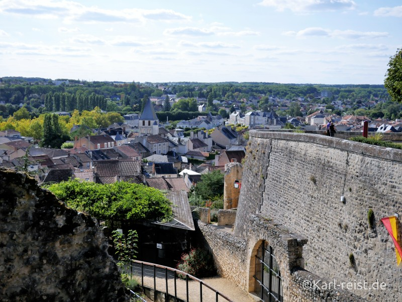 Cite medievale von Chauvigny