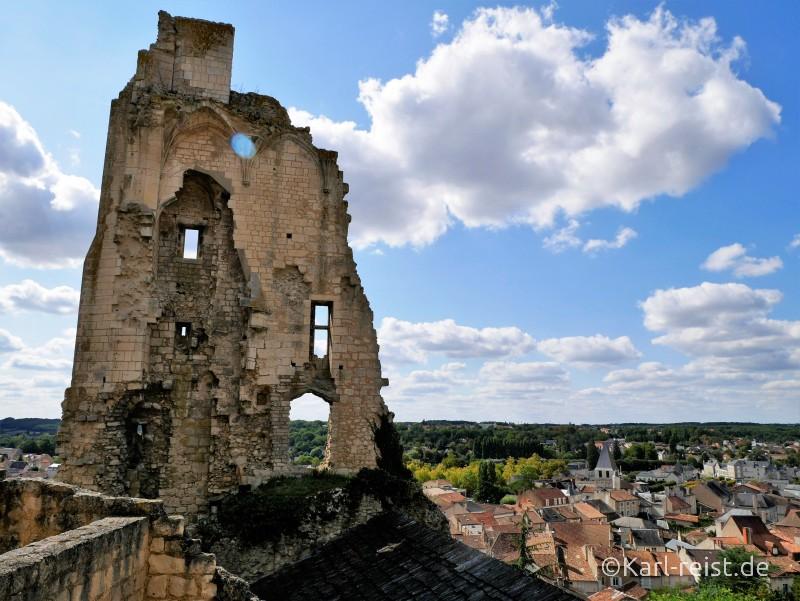 Geants du Ciel Ausblick vom Chateau Neuf