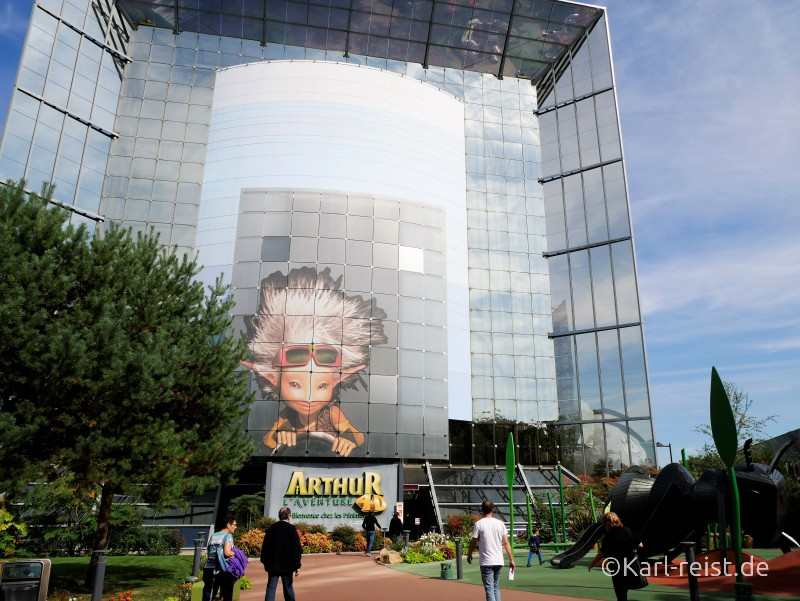 Arthur L'Adenture Arthur und die Minimoys Futuroscope Poitiers