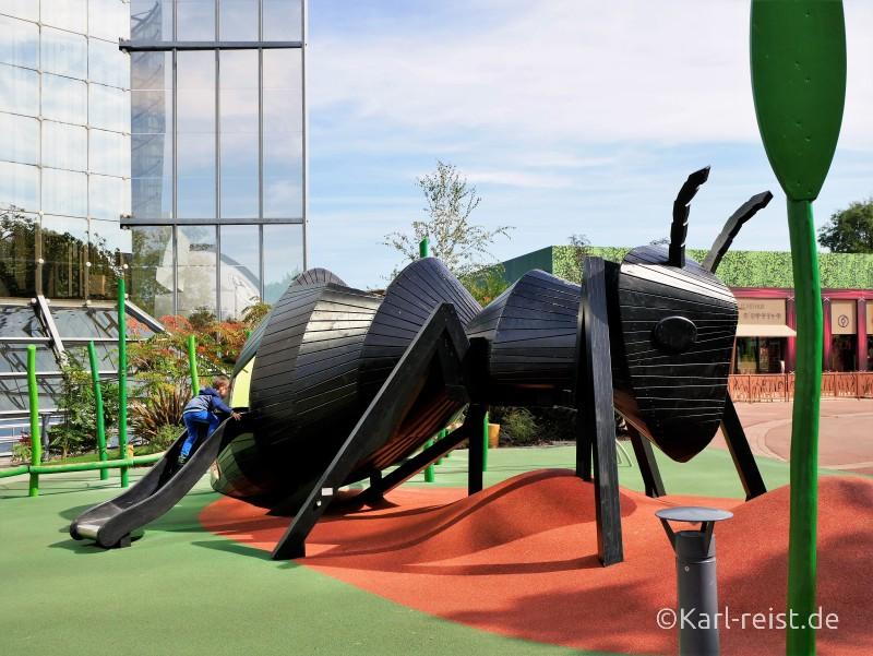 Ameise Spielplatz Futuroscope Poitiers