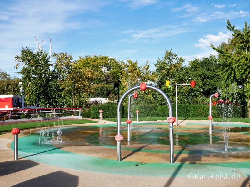 Futuroscope Frankreich Poitiers Wasserspiele