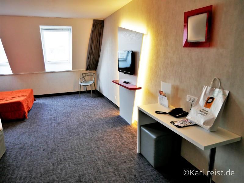 Ibis Styles Hotel Zimmer