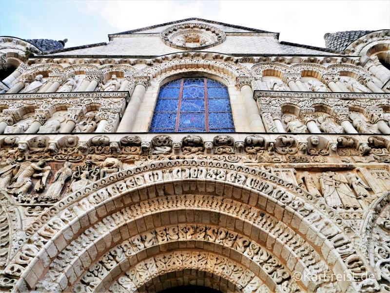 Notre Dame le Grande de Poitiers Kirche