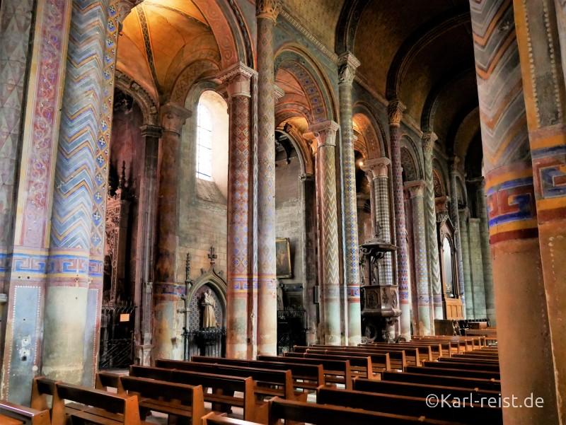 Notre Dame la Grande de Poitiers Kirche