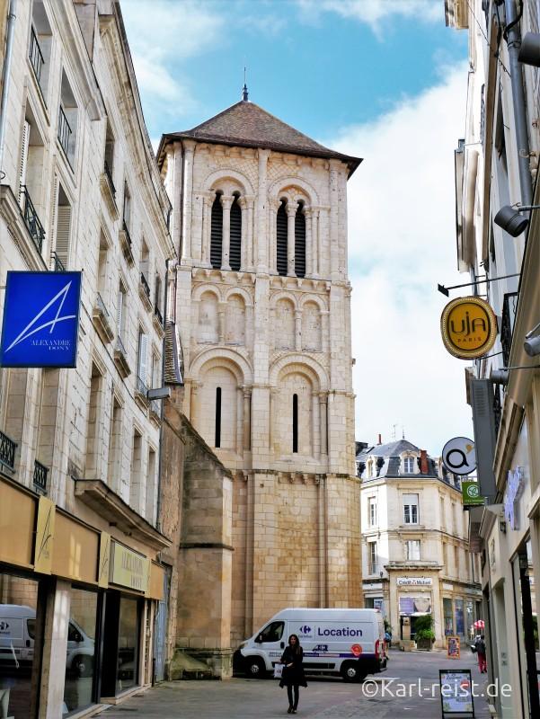Cure de Saint Porchaire Kirche Poitiers Frankreich