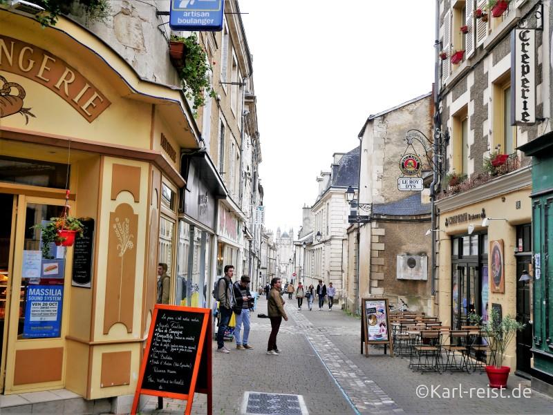 Poitiers Innenstadt