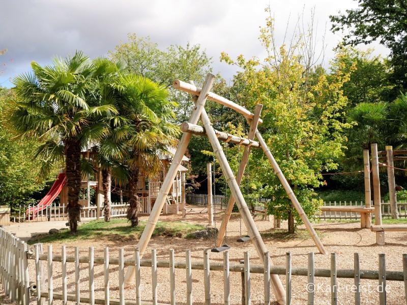 Vallée des Singes Romange Tal der Affen Großer Spielplatz