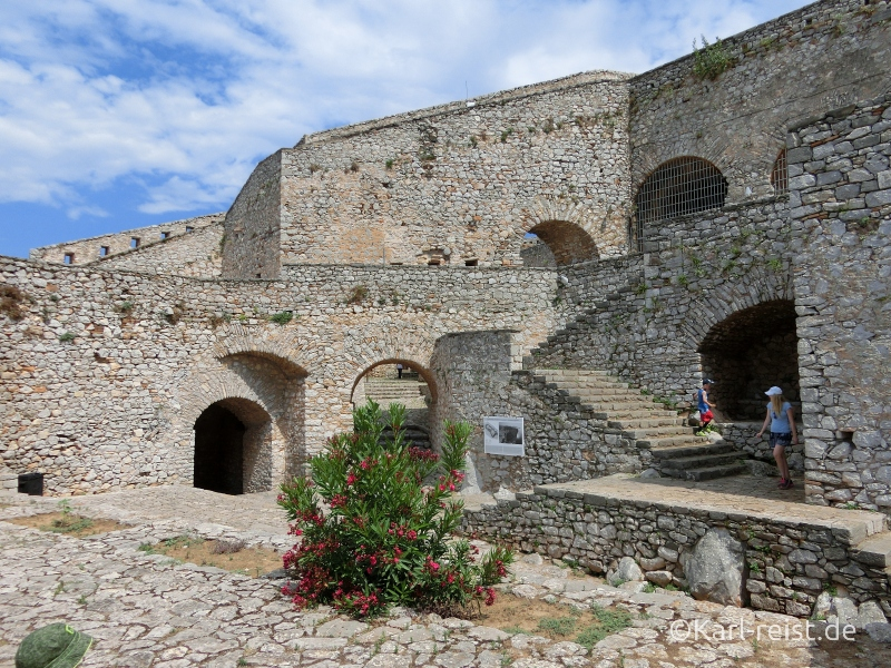 Palamidi Castle Festung in Nauplion Nafplio